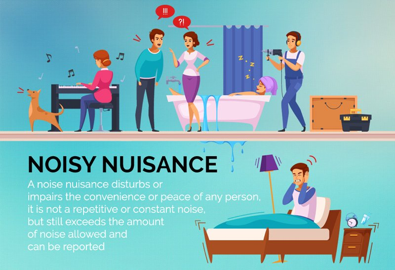 Disturbance of peace – noise nuisance