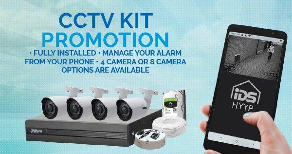 CCTV Alarm System Kit Promotion